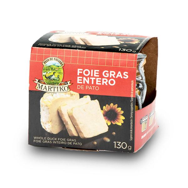 Foie gras de pato martiko