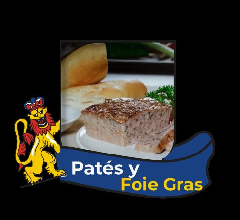 Patés y Foie Gras